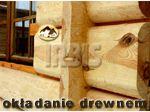 Oferta wykonania konstrukcji drewnianych, ok�adzin z p�az�w i p�bali, pokry� trzcinowych