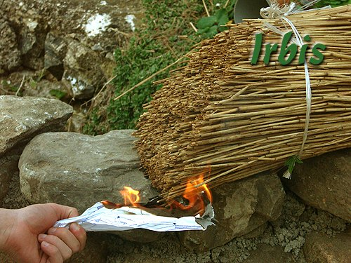 Irbis Strzecharstwo - próba podłożenia ognia!