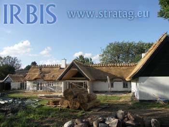 Renovering af strataget i 2011 - Roskilde ved list Taekkefirma Irbis